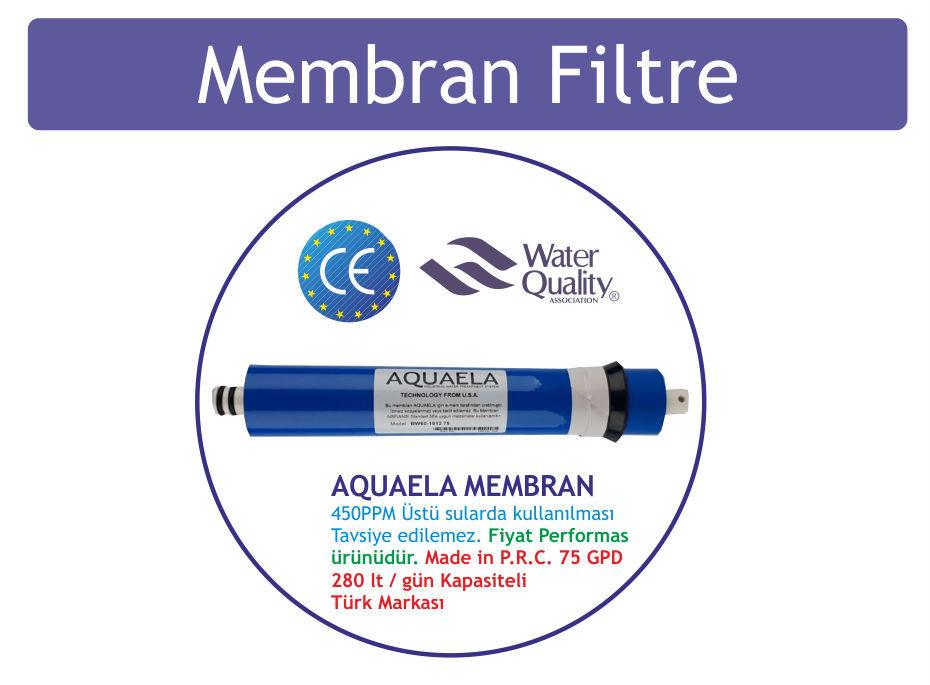 aquaela su arıtma cihazı membran filtresi